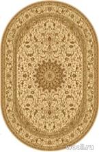 Isfahan Oval Santorini-cream