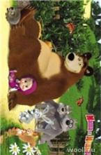 Masha and the Bear D3MM009-MIX