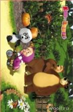 Masha and the Bear D3MM015-MIX