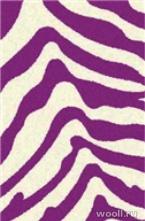 COMFORT SHAGGY 2 s604-CREAM-PURPLE