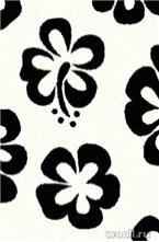 COMFORT SHAGGY 2 s605-BONE-BLACK