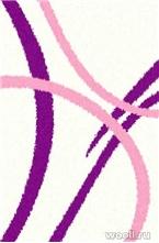 COMFORT SHAGGY 2 s606-CREAM-PINK